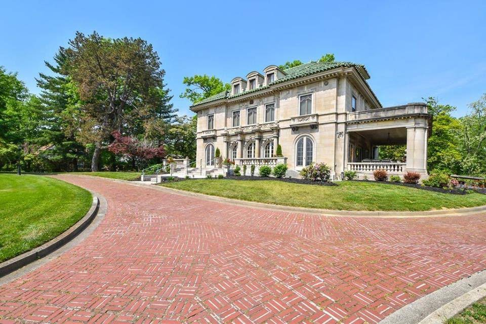 1910 Historic May House Mansion For Sale In Cincinnati