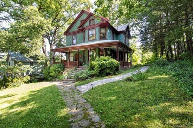 1904 Appalachian Victorian For Sale In Asheville North Carolina