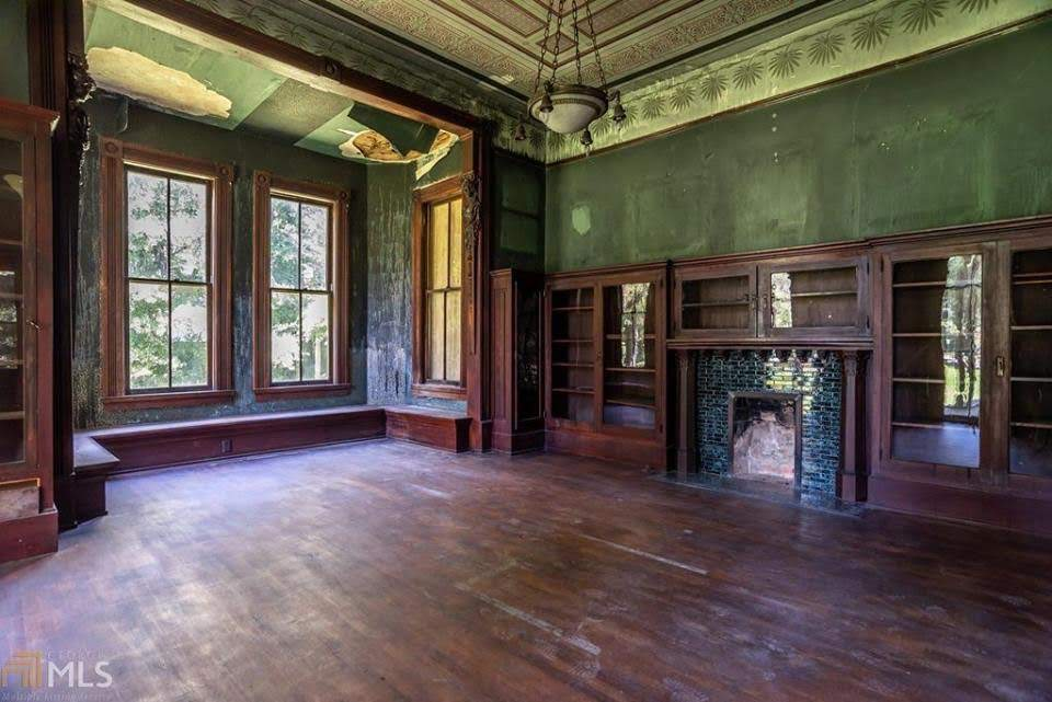 1883 Abandoned House For Sale In Madison Georgia