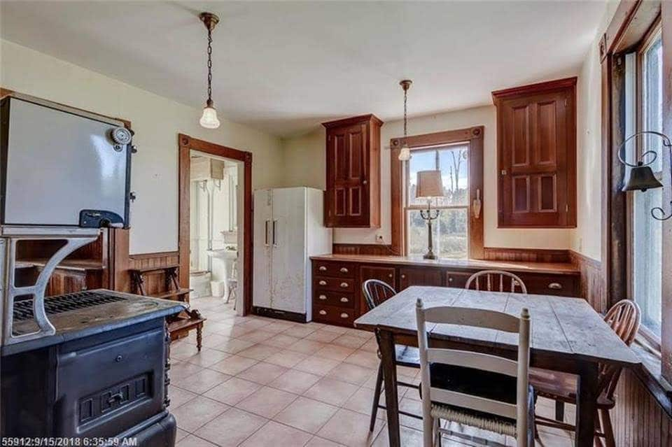 1901 Waterfront Victorian For Sale In Stonington Maine