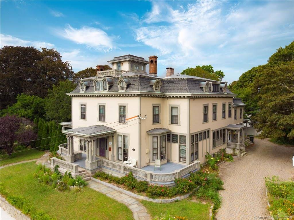 1852 Second Empire For Sale In New London Connecticut Captivating