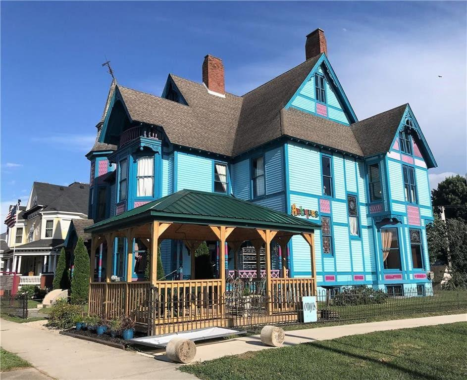 1883 Victorian For Sale In Ladoga Indiana