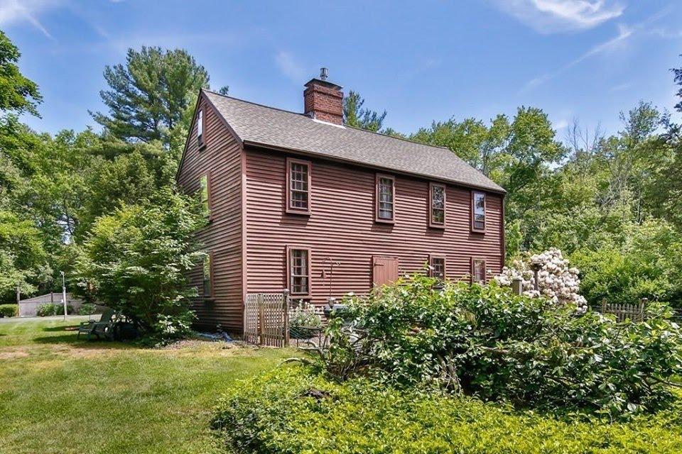 1690 Saltbox For Sale In Boxford Massachusetts