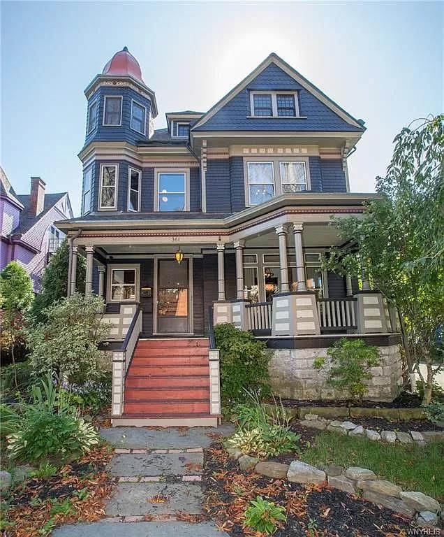 1900 Queen Anne For Sale In Buffalo New York Captivating