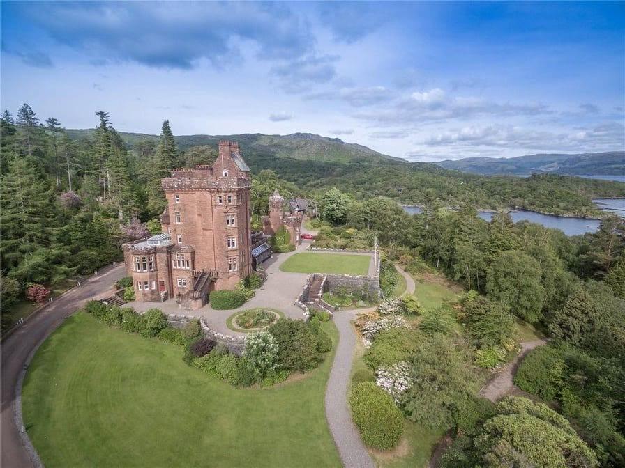 1902 Glenborrodale Castle For Sale In Highland Scotland