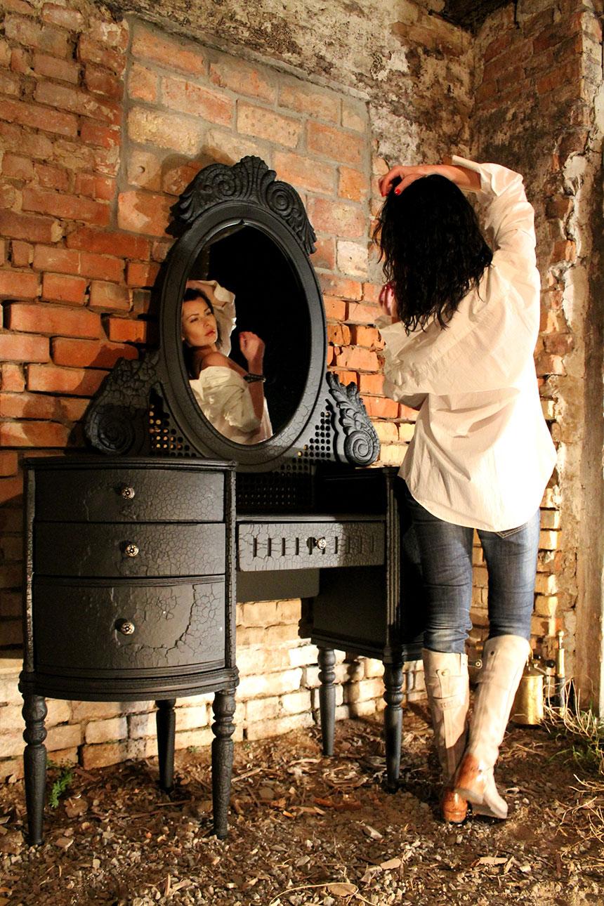 Charred Wood Finish Furniture By Yaroslav Galant Captivatist