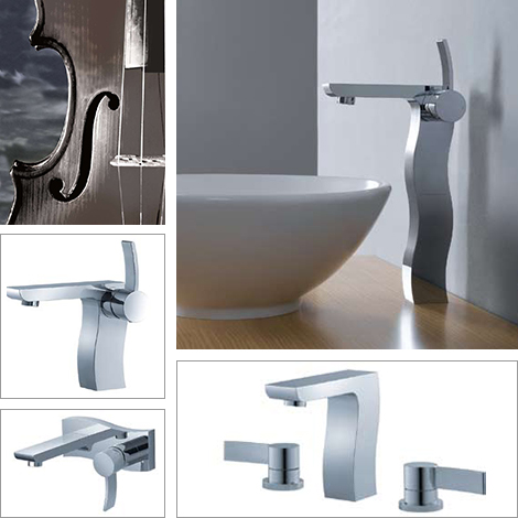 Unusual Bathroom Faucets By Fluid Faucets Captivatist