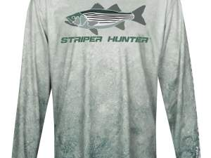 Grey Seas Striper Hunter Long Sleeve Shirt
