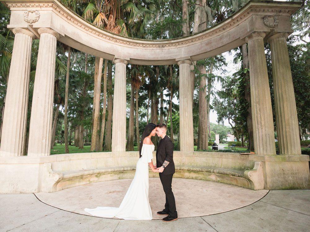 Orlando Wedding Photographer Amp Videographer Kraft Azalea Garden Winter Park