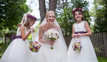 Bride Wedding Flower Girl