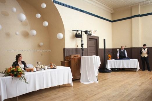 Speech toast Wedding Bride LGBT Gay Fall