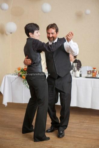 Father Daughter Dance Wedding Bride LGBT Gay