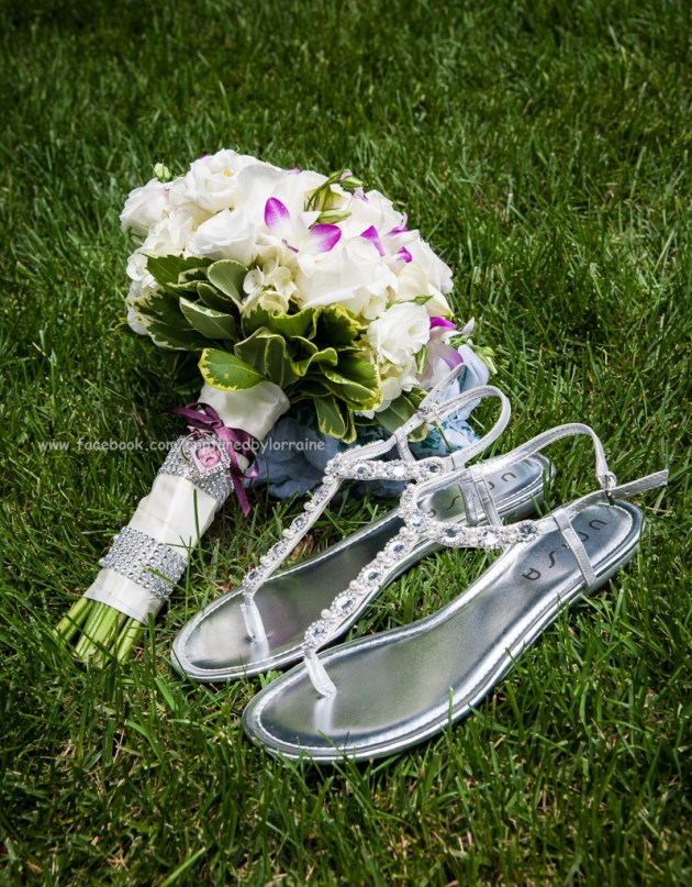 Wedding Flowers shoes