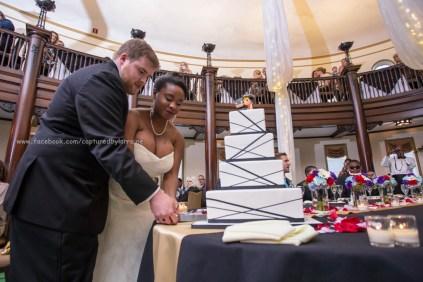 Bride Groom Cut Cake