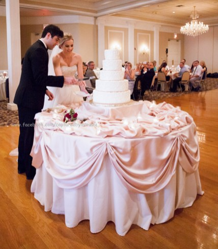 Wedding Bride Groom Cake Cut