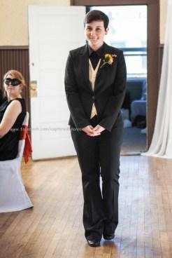 Wedding Bride Walk Aisle LGBT Gay