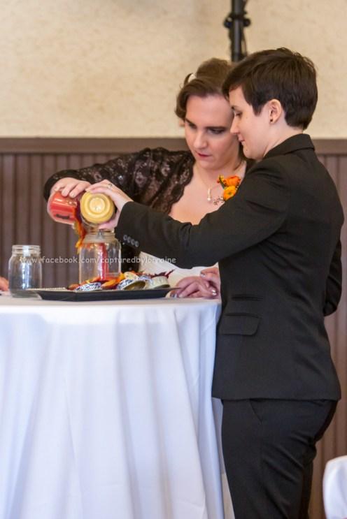 Wedding Bride LGBT Gay Sand