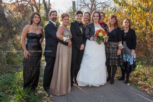 Wedding Bride LGBT Gay Family