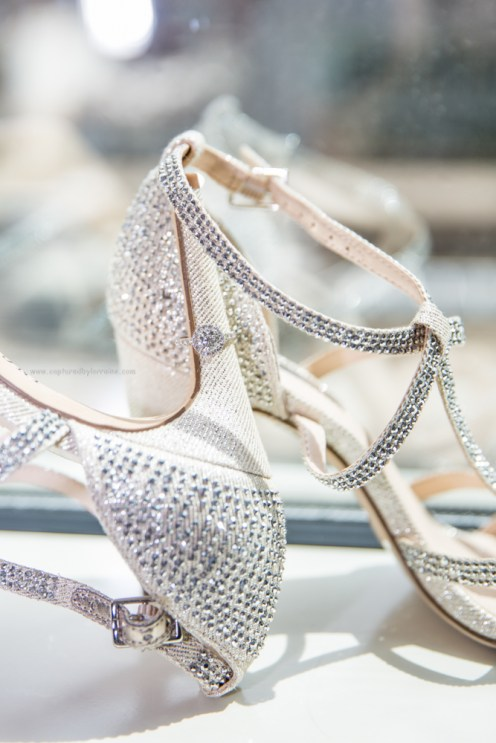 Wedding ring and shoes, Chicago Wedding