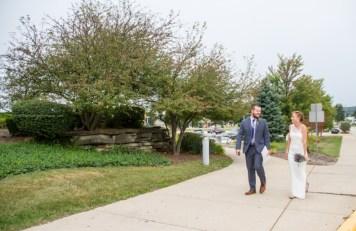 Bride Groom walk, Courthouse
