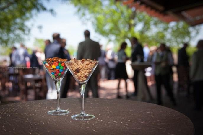 Wedding Glass snacks