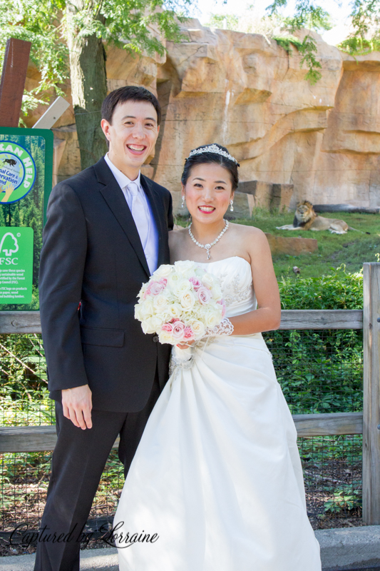 Brookfield Zoo Wedding,Geneva Il wedding photographer