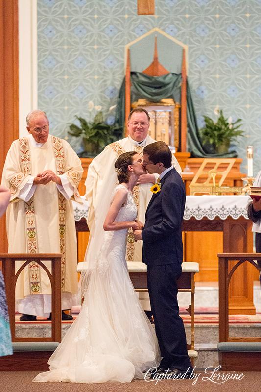 231 Holy Angels Catholic Church Wedding Photographer