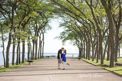 Milton Lee Olive Park Engagement