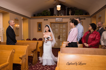 Chapel in the Pines Wedding