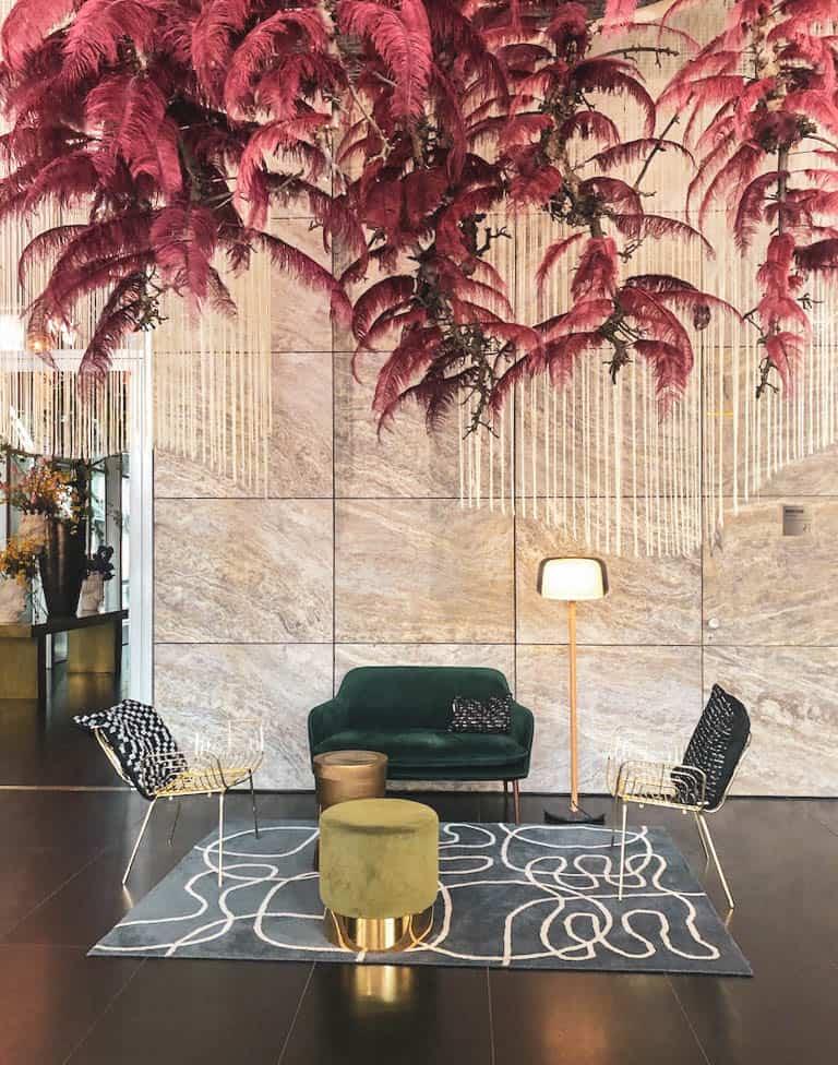 Lobby Nhow Hotel Rotterdam