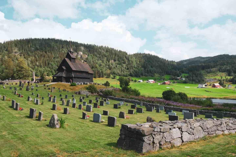 Eidsborg Stavechurch not far from dalen in norway