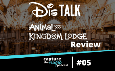 Ep 05: Our Review Of Disney's Animal Kingdom Lodge