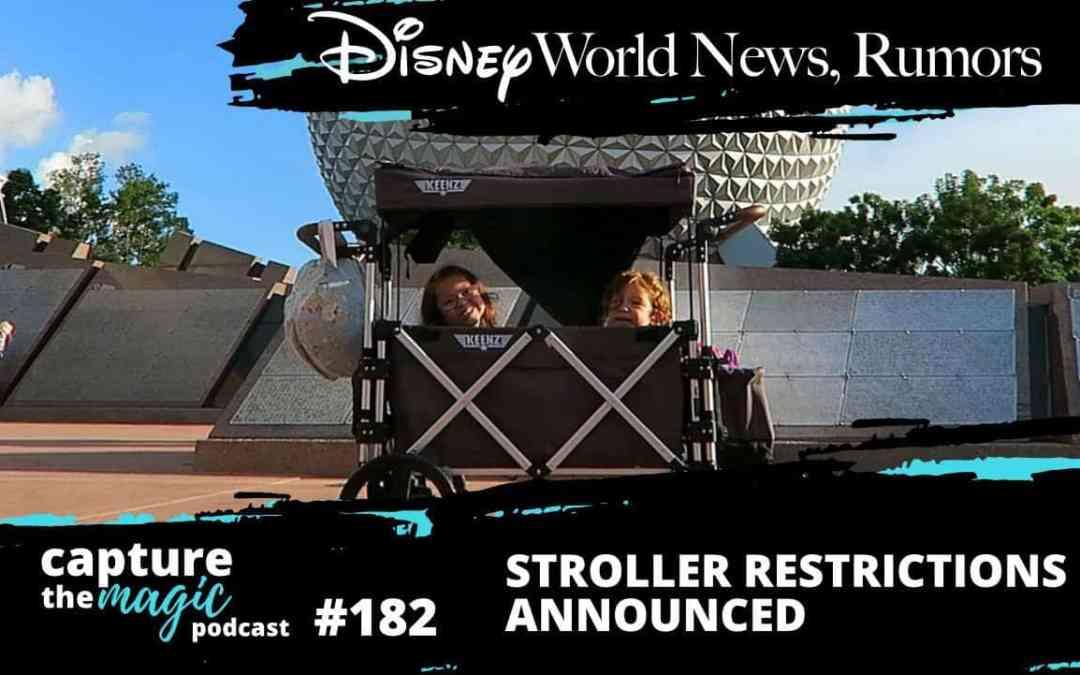 Ep 182: Disney World News + Villains After Hours Announced