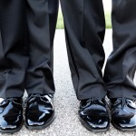 Two Grooms In Shoes
