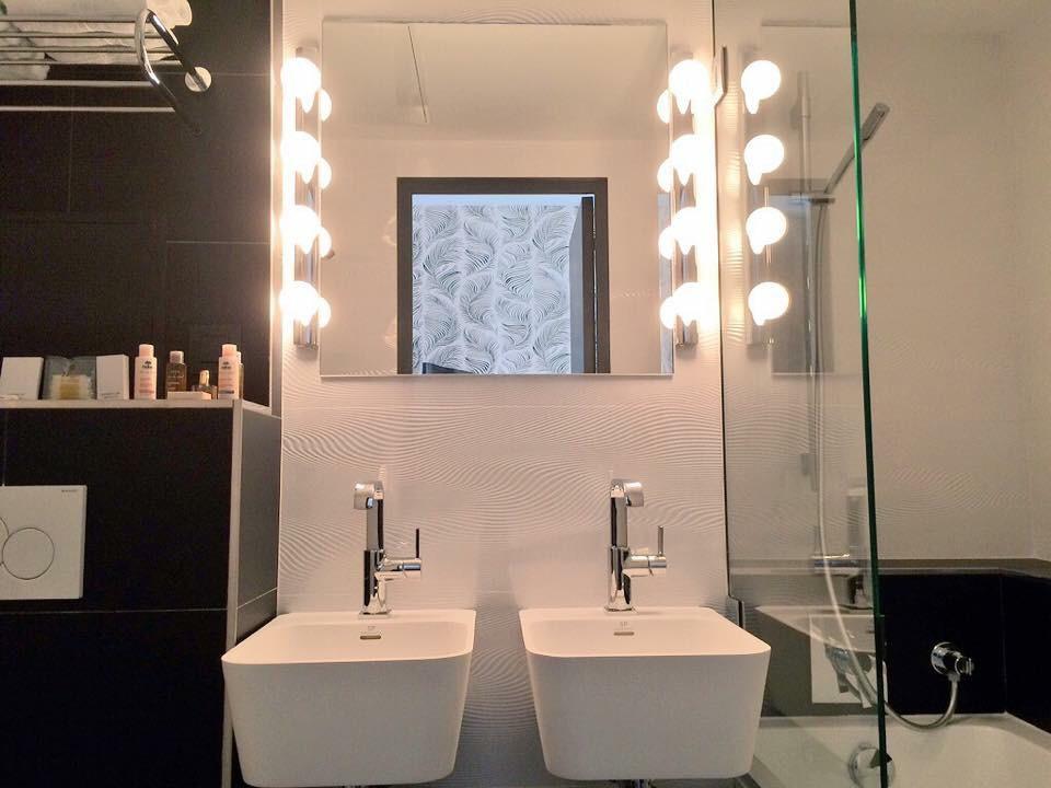 Salle de bain - Hôtel Parizienne Paris  © Capucineee.com