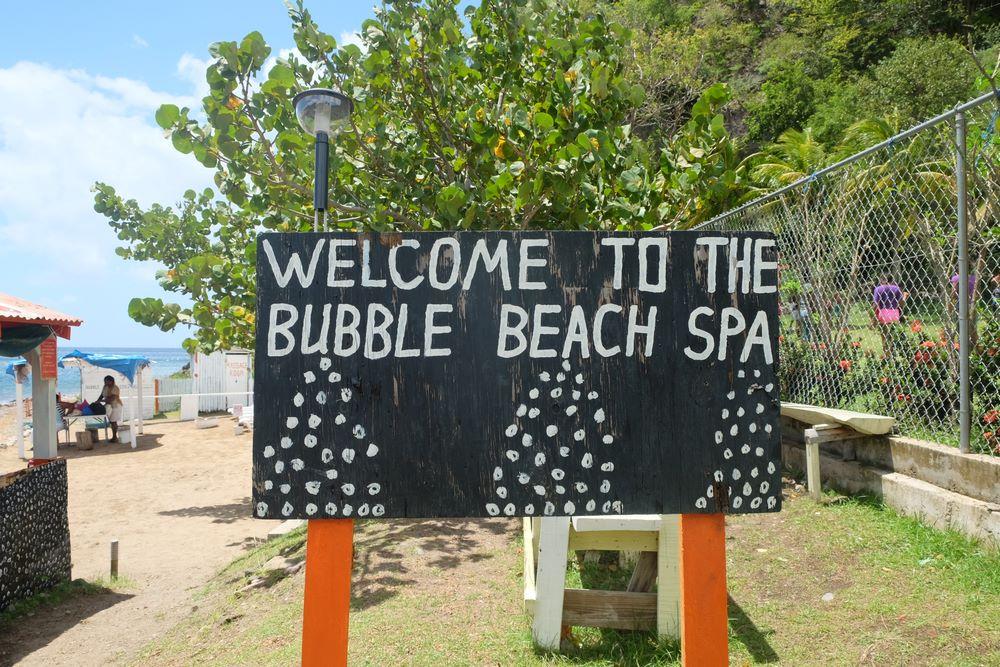 les spas naturels sur l'île de la Dominique