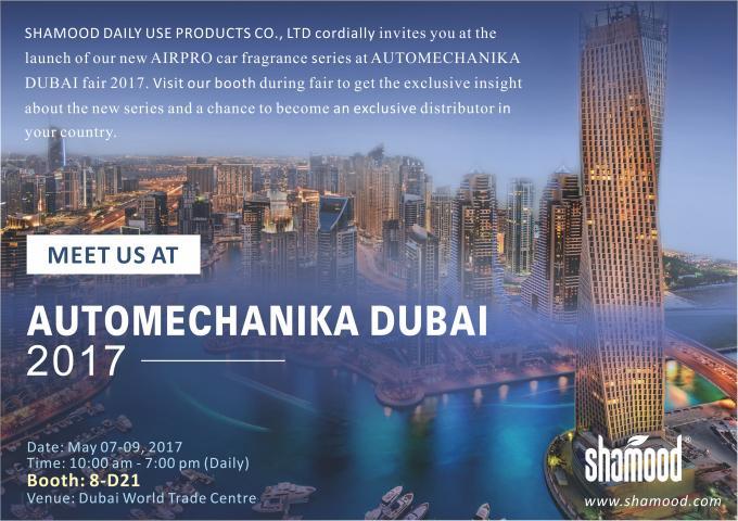 Automechanika Dubai Uae Invitation Letter