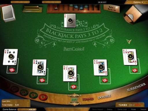 オンラインカジノでも人気を集めているブラックジャック
