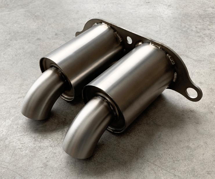 best titanium exhaust system full tips