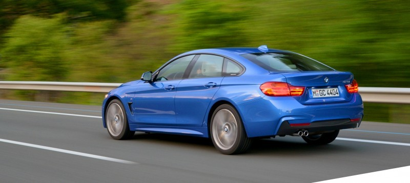 100 New Photos - 2015 BMW 428i and 435i Gran Coupe Are Segment-Busting AWD 4-Doors 11