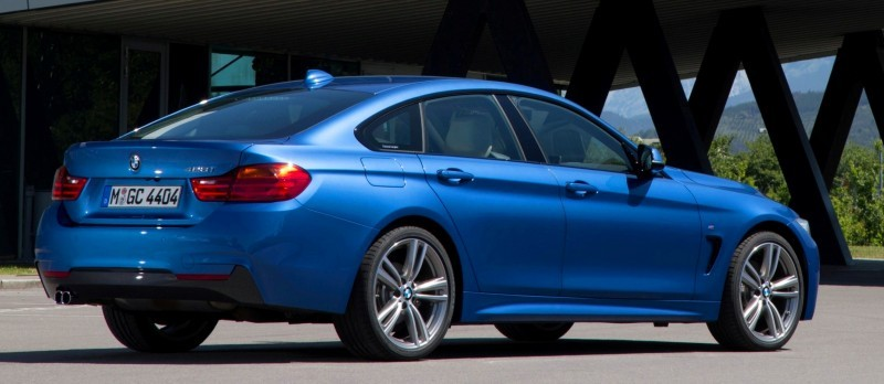 100 New Photos - 2015 BMW 428i and 435i Gran Coupe Are Segment-Busting AWD 4-Doors 74