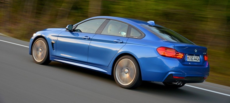 100 New Photos - 2015 BMW 428i and 435i Gran Coupe Are Segment-Busting AWD 4-Doors 8