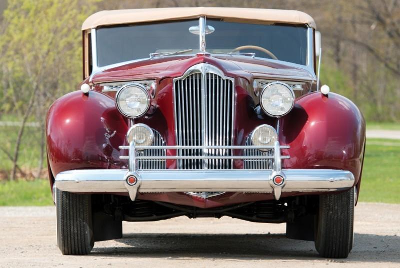 1940 Packard Custom Super Eight Convertible Sedan by Darrin 12