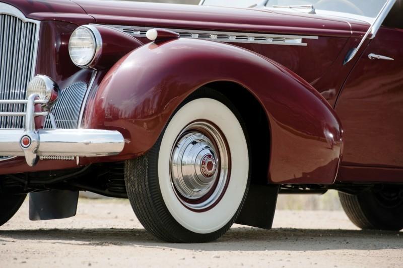 1940 Packard Custom Super Eight Convertible Sedan by Darrin 7