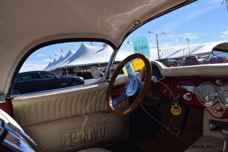 1953 Chevrolet Corvette Bubble Hardtop - 1989 Replica Vehicle 30