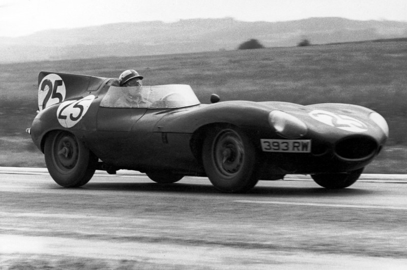 1956 Reims Bueb Jaguar D-type 393RW