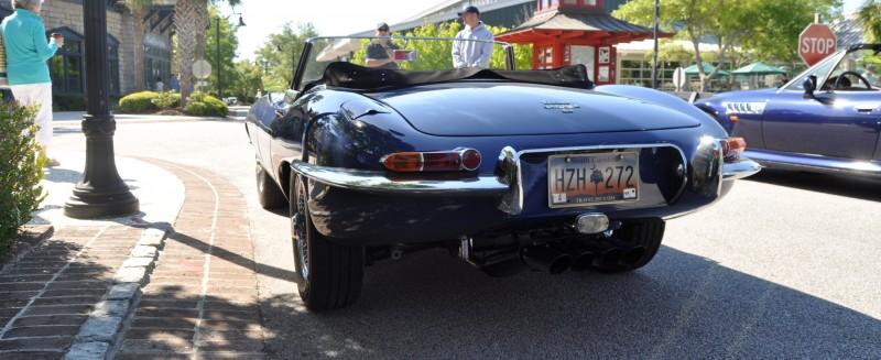1963 JAGUAR E-Type Series 1 Classes Up Kiawah Island Cars and Coffee 6