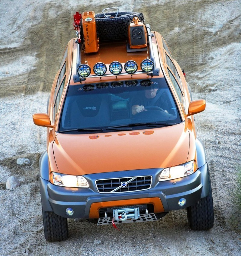 2005 Volvo XC70 AT and 2007 XC70 Surf Rescue are California Surf'n'Turf Dreams 12