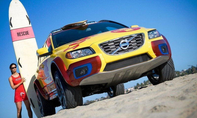 2005 Volvo XC70 AT and 2007 XC70 Surf Rescue are California Surf'n'Turf Dreams 20