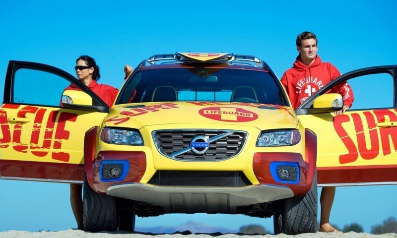 2005 Volvo XC70 AT and 2007 XC70 Surf Rescue are California Surf'n'Turf Dreams 31